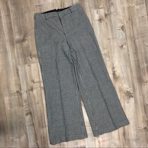 Ralph Lauren black label houndstooth trousers